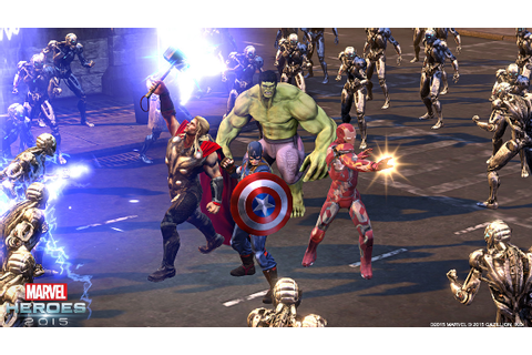 Marvel Heroes 2016: Gazillion plan another bumper year for ...