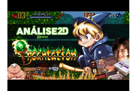 Análise 2D - Incantation (SNES, 1996) - YouTube
