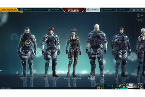 Ghost in the Shell First Assault - En bêta Free-to-play ...