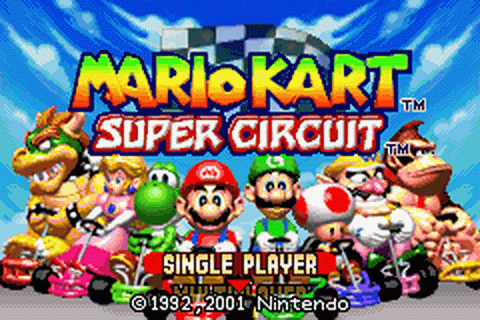 Play Mario Kart - Super Circuit Nintendo Game Boy Advance ...