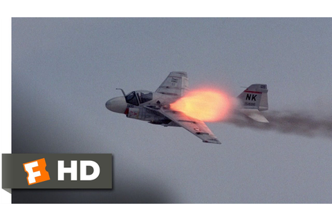 Flight of the Intruder (9/10) Movie CLIP - Gunned Down ...