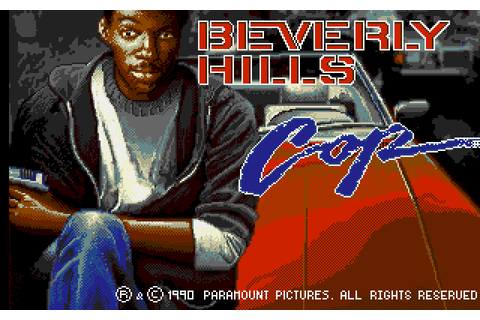 Beverly Hills Cop (1990) by Tynesoft Amiga game