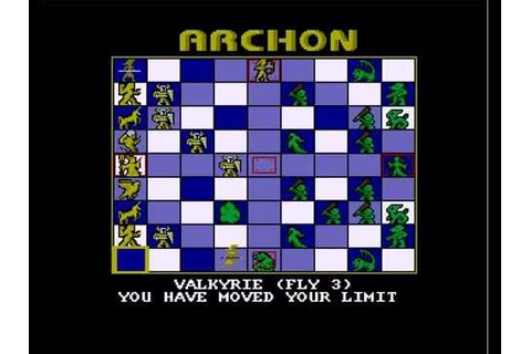 archon - the light and the dark for Amiga - YouTube