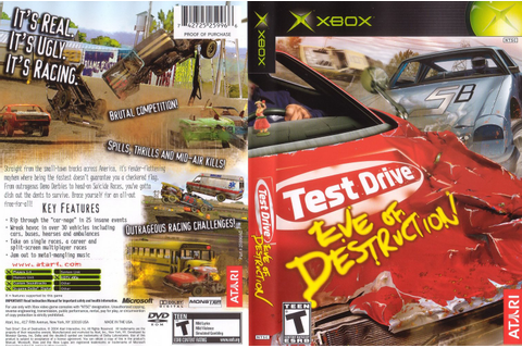 Game Zone: TEST DRIVE EVE OF DESTRUCTION