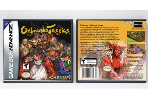 Onimusha Tactics - Game Boy Advance - Custom Game Cases ...