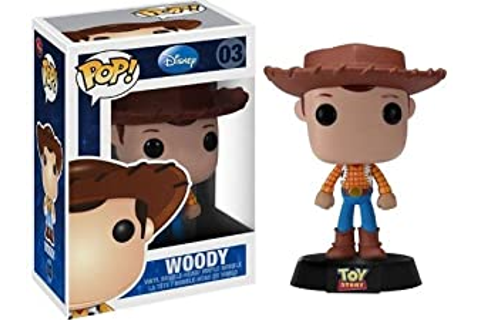 Amazon.com: Toy Story Woody POP Disney Pop! Vinyl Figure ...