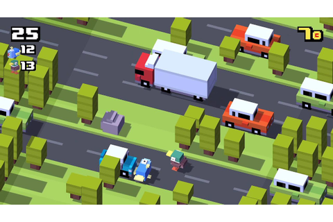How to play Crossy Road multiplayer on the Apple TV - YouTube