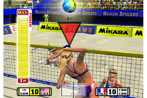 Beach Spikers (2002) by AM2 GameCube game