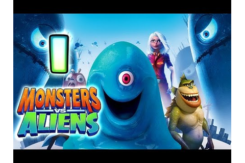 Monsters VS Aliens Walkthrough Part 1 (PS3, X360, Wii, PS2 ...