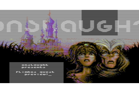 Indie Retro News: Games That Weren't & Onslaught C64 ...