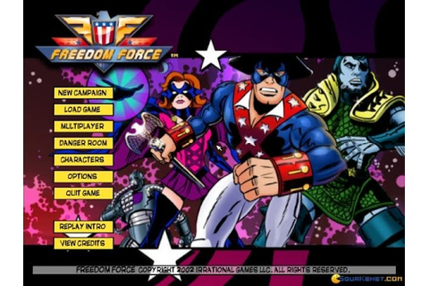 Freedom Force gameplay (PC Game, 2002) - YouTube