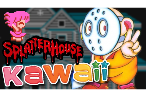 Splatterhouse Wanpaku Graffiti - Terror Kawaii no ...
