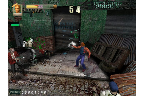 Zombie Revenge (1999) by Data East Arcade game