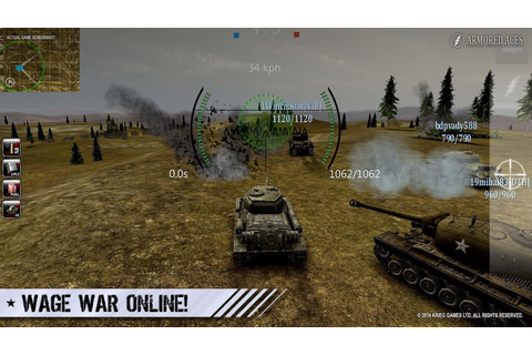 Armored Aces - 3D Tank War Online - Android Apps on Google ...