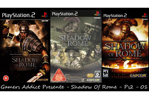 Shadow Of Rome - [Ps2] - [Decouverte] - #01 - [Fr] - YouTube