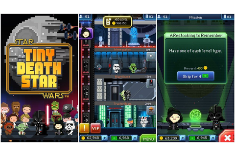 Star Wars: Tiny Death Star updated, lets you save the game ...