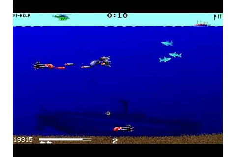[DOS] Sub Fury (Submarine Fury) -- Gameplay - YouTube