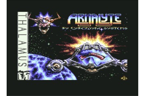 Armalyte (Commodore 64) Game Download