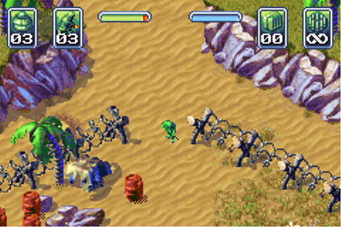 Army Men: Operation Green Screenshots for Game Boy Advance ...