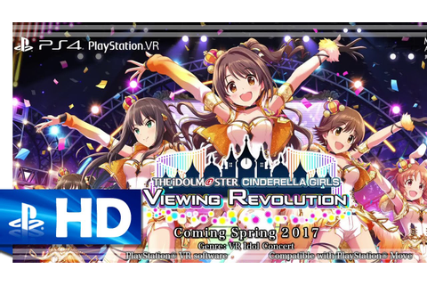 The Idolmaster: Cinderella Girls Viewing Revolution (2017 ...