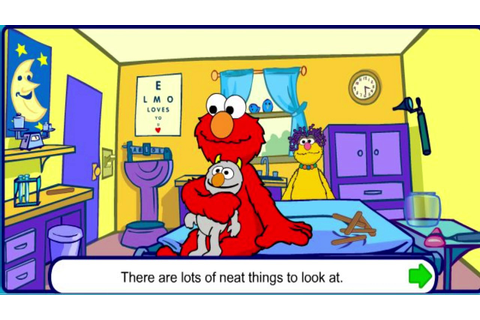 Elmo Goes to the Doctor - Sesame Street Games - PBS Kids ...