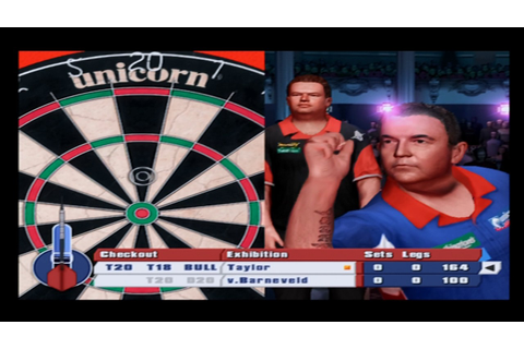 PDC World Championship Darts 2008 PS2 Gameplay - YouTube