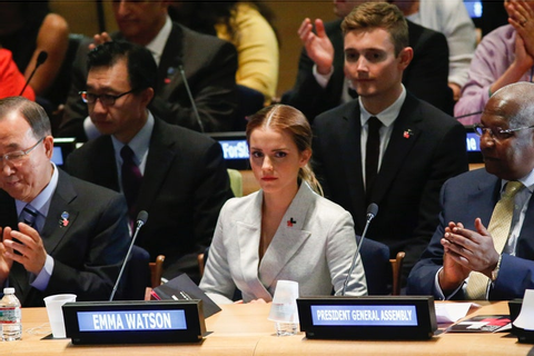 Emma Watson Delivers Game-Changing Speech on Feminism for ...