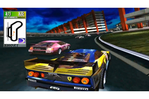 Scud Race plus (Arcade) - Beginner [Night] Track (1st ...
