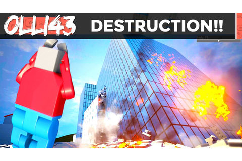 THE BEST CITY DESTRUCTION GAME IN THE WORLD!! - YouTube