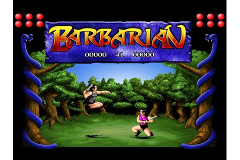 Download Barbarian & Play Free | Classic Retro Games
