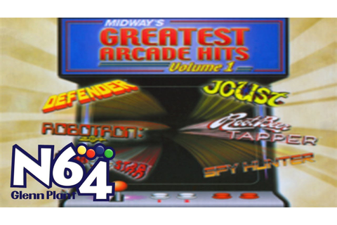 Midway's Arcade Greatest Hits - Nintendo 64 Review - HD ...