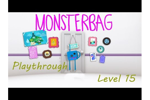 MonsterBag Playthrough Level 15 (PS Vita Cam) - YouTube