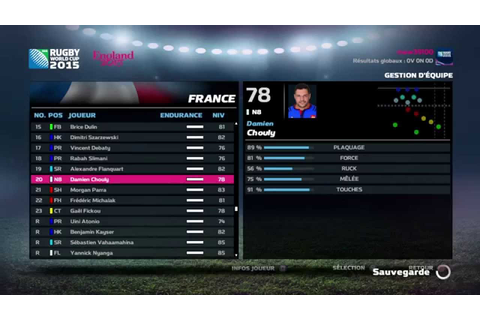Rugby World Cup 2015 game ps4 - YouTube