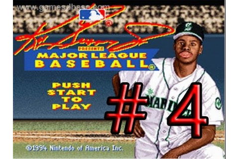SNES Classic: Ken Griffey Jr Presents Major League ...