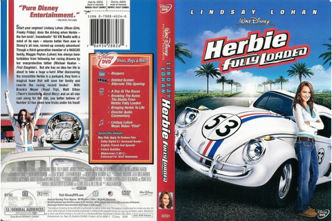 Herbie: Fully Loaded - 786936288261 - Disney DVD Database