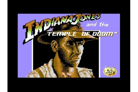 Indiana Jones and the Temple of Doom C64 Played Badly ...