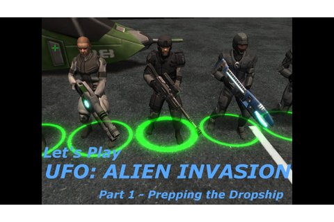 Let's Play UFO: Alien Invasion v2.5 Part 1 - Prepping the ...
