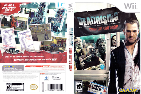 Games Covers: Dead Rising - Chop Till You Drop - Wii