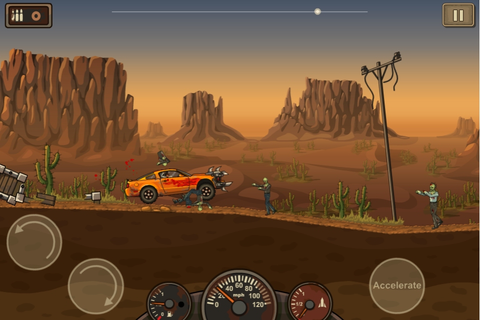 Zombie drive down Flash game Earn to Die coming to App ...