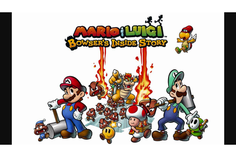 Pokemon Black and White - Mario and Luigi Bowser's Inside ...