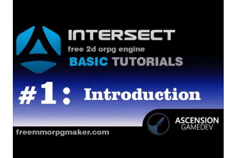 Introduction to the Intersect 2D Game Engine - YouTube
