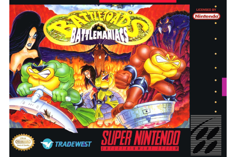 Battletoads In Battlemaniacs - Super Nintendo(SNES) ROM ...