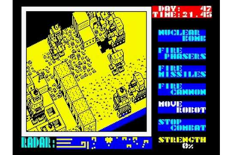 Nether Earth Walkthrough, ZX Spectrum - YouTube