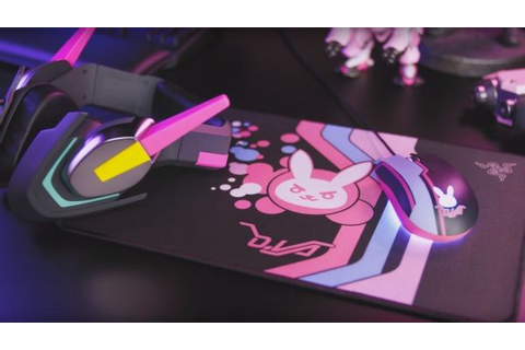 Razer announces new D.Va-themed peripherals at Blizzcon ...