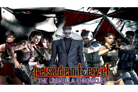 RESIDENT EVIL: The Umbrella Chronicles All Cutscenes (Game ...