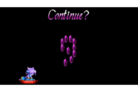 Freedom Planet - Game over: Y or N - YouTube