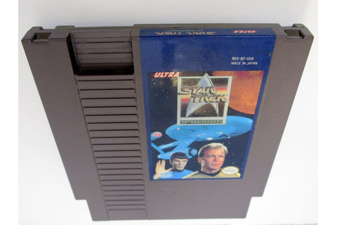 Star Trek 25th Anniversary game for NES (Loose) | The Game Guy