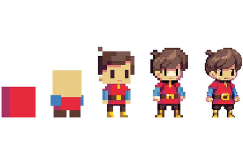 25+ best ideas about Pixel Characters on Pinterest | The ...