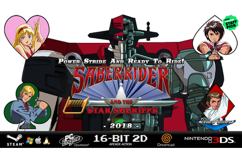 Saber Rider and the Star Sheriffs - 3DS / Steam ...