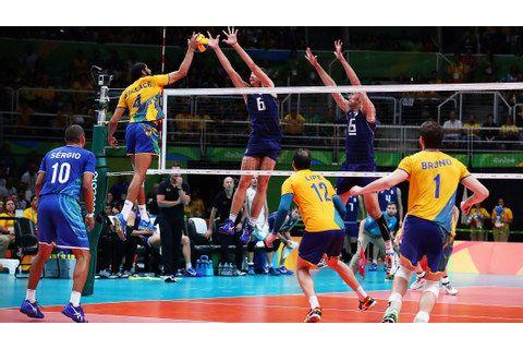 Dream finish as Brazil clinch men's volleyball gold ...